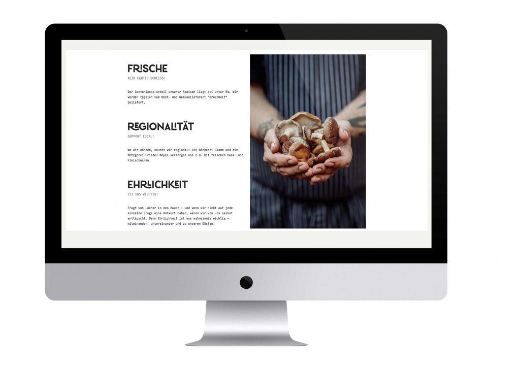Webdesign Restaurant Herr Knillmann
